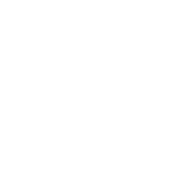 A circle made out of white dots.